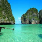 """タイのピピ島の海が凄い綺麗!ディカプリオも泳いだ映画""""ザ・ビーチ""""のロケ地"""