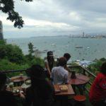 パタヤで最も綺麗な景色をパタヤヒルのカフェで楽しもう!タイ旅行FPのブログ