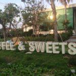 """パタヤの隣ジョムティエンの美味しいケーキのカフェ""""コーヒー&スウィーツ""""の全メニュー"""