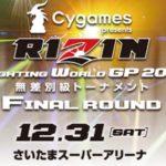 2016年大晦日の格闘技大会ライジンRIZINの出場選手と対戦カード情報(噂も含む)